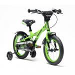 Bicicleta copii Kawasaki Ninja 14 inch green