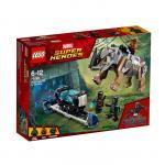 Confruntarea cu rinocerul langa Mina Lego