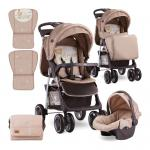 Carucior 2 in 1 Foxy cos auto inclus Beige Bear Party