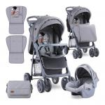 Carucior 2 in 1 Foxy cos auto inclus Grey Cool Cat