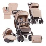 Carucior 2 in 1 Toledo Beige Cool Cat