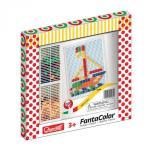 Joc creativ Fanta Color Quercetti creatie imagini mozaic 100 piese