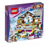 Lego Friends Patinoarul statiunii de iarna