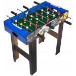 Masa de fotbal din lemn Ecotoys XXL Albastru