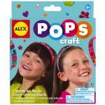 Accesorii de par doua bentite stralucitoare Pops Craft AlexToys