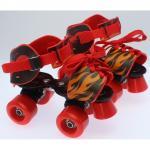 Patine cu rotile ajustabile 4 roti 28-37 copii Fire