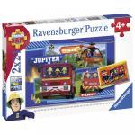 Puzzle Echipa Pompier Sam 2x24 piese