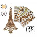 Puzzle Monument Turnul Eiffel 3D