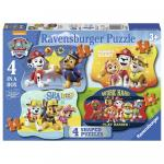 Puzzle Paw Patrol 4/6/8/10 piese