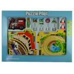 Puzzle pentru copii Pilot Gara