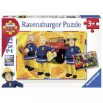 Puzzle Pompier Sam 2x12 piese