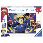 Puzzle Pompier Sam 2x24 piese