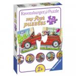 Puzzle Vehicule 9x2 piese