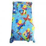 Set 3 piese paturica cu cearsaf si pernuta 120x60 cm Aiurila pe albastru