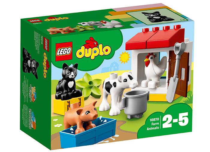 Animalele de la ferma Lego Duplo