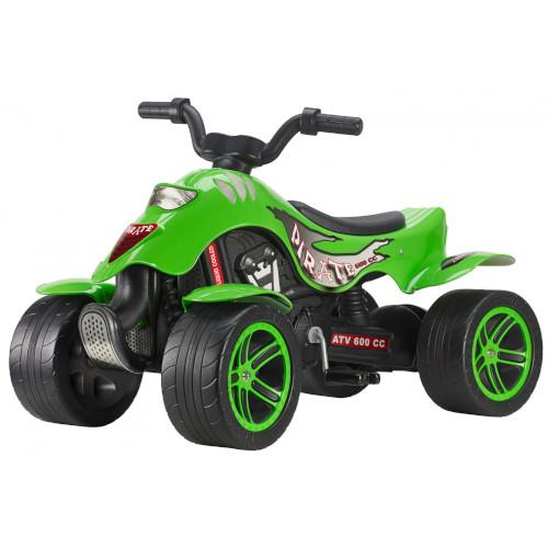 ATV cu pedale Quad Green Pirate