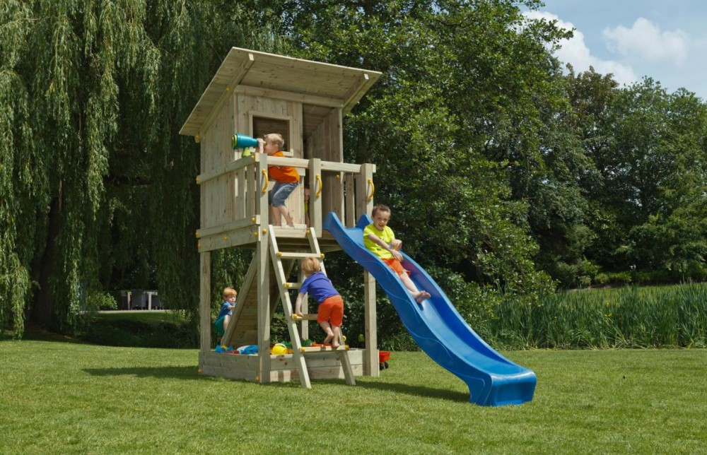 Play house blue rabbit beach hut imagine
