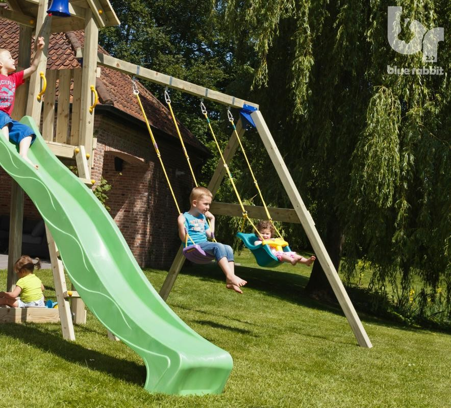 Modul pentru spatiu de joaca Swing Basic Leagan Fara Sezuturi imagine