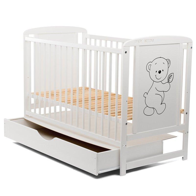 https://img.nichiduta.ro/produse/2019/05/BabyNeeds---Patut-din-lemn-Timmi-120x60-cm-cu-sertar-Alb--Saltea-8-cm-232154-1.jpg
