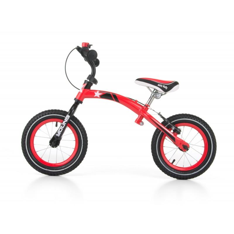 Bicicleta transformabila 2 in 1 Young Red