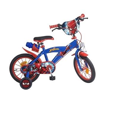 Bicicleta pentru baieti Spiderman 14 inch