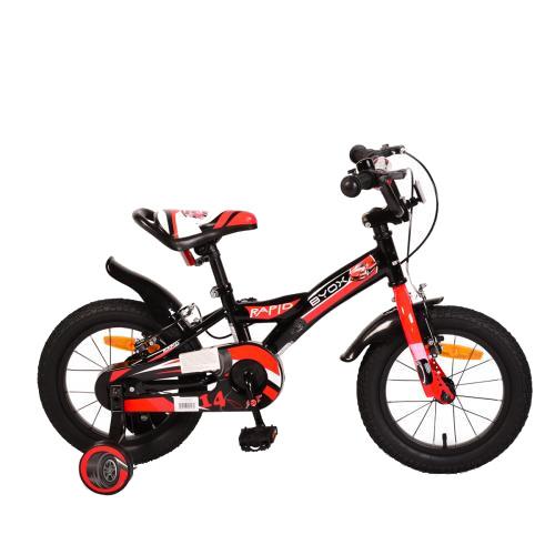 Bicicleta pentru copii Rapid Black 14 inch - 1