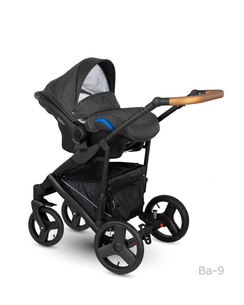 Carucior copii 3 in 1 Baleo 2019 Camarelo Ba-9