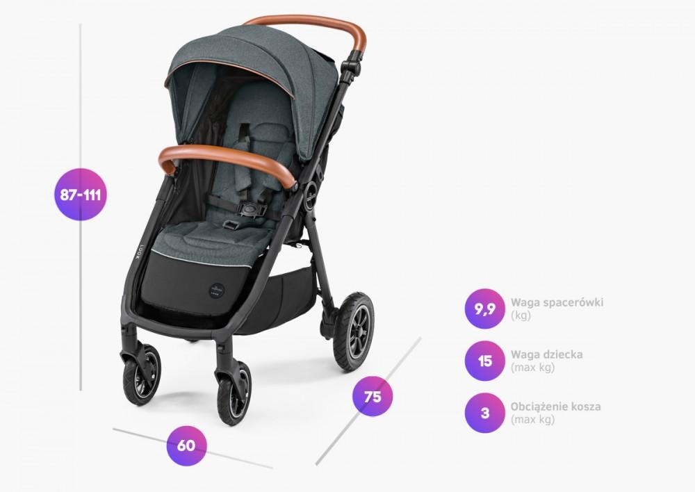 Carucior sport Look Air 03 Navy Baby Design - 2
