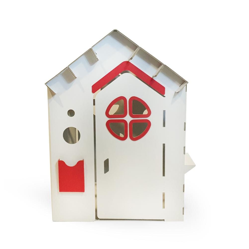 Casuta din carton Prima Casa Red