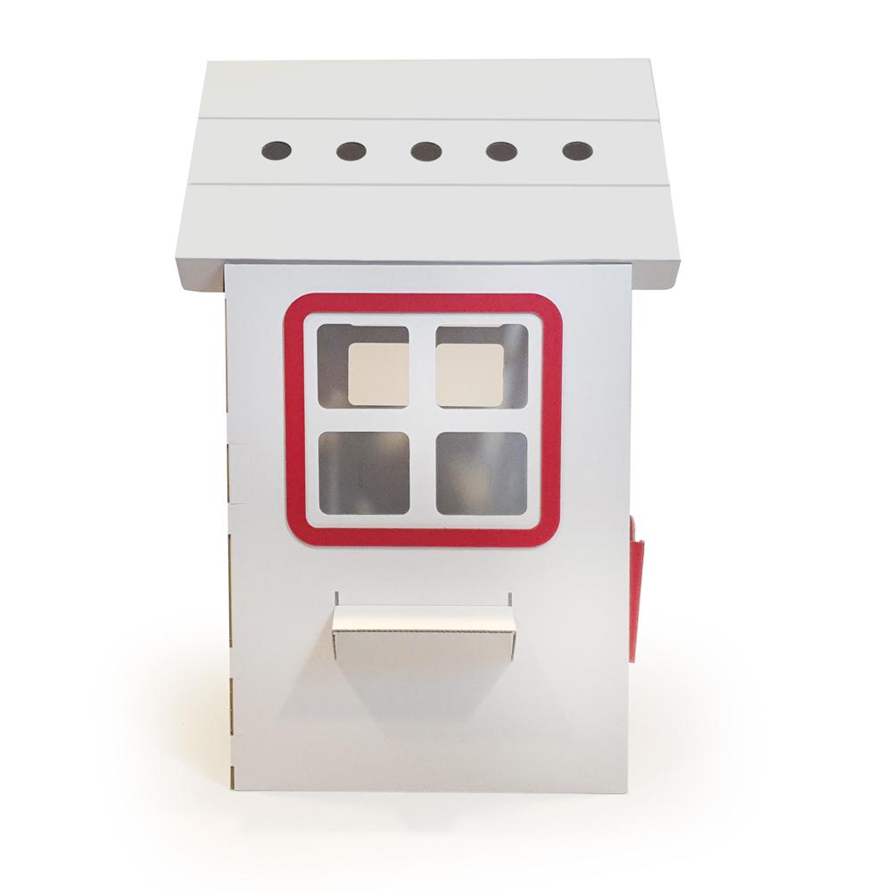Casuta din carton Prima Casa Red imagine