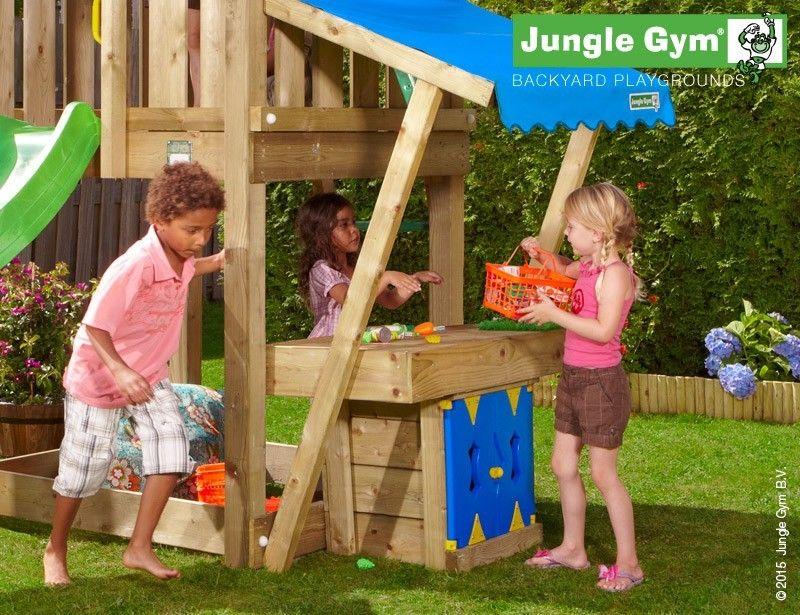 Complex de joaca Jungle Gym Hut-Minimarket
