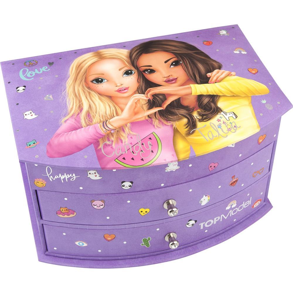 Cutie de bijuterii purple Top Model Depesche