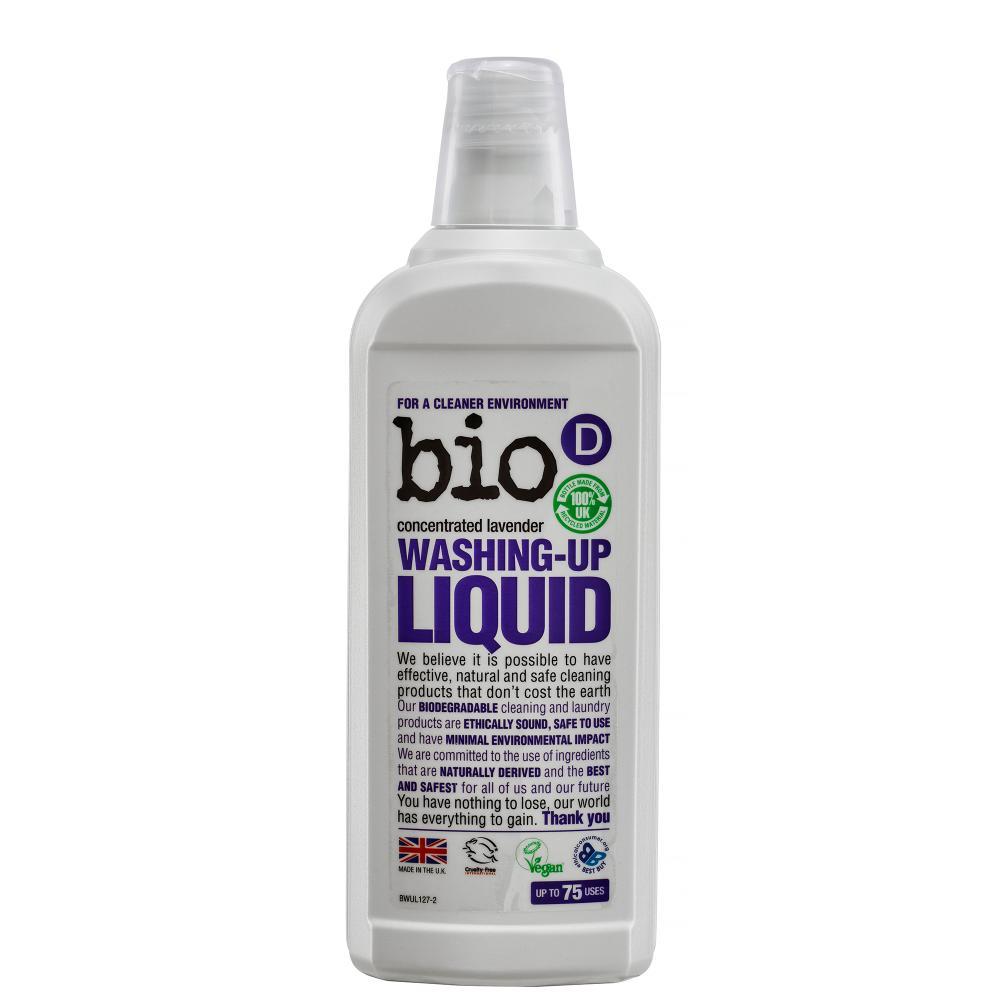 Detergent lichid pentru vase cu lavanda Bio-D Vegan 750 ml