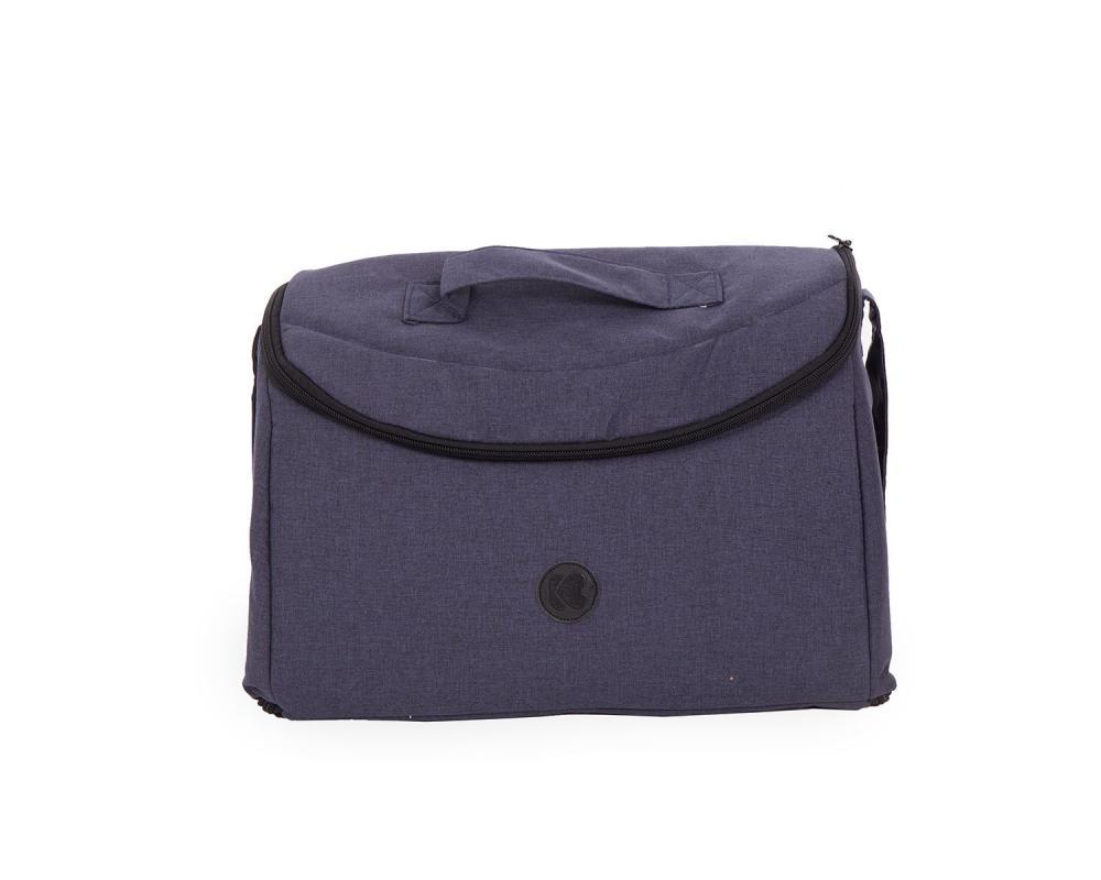 Geanta pentru mamici Mama Bag Uni Blue Melange
