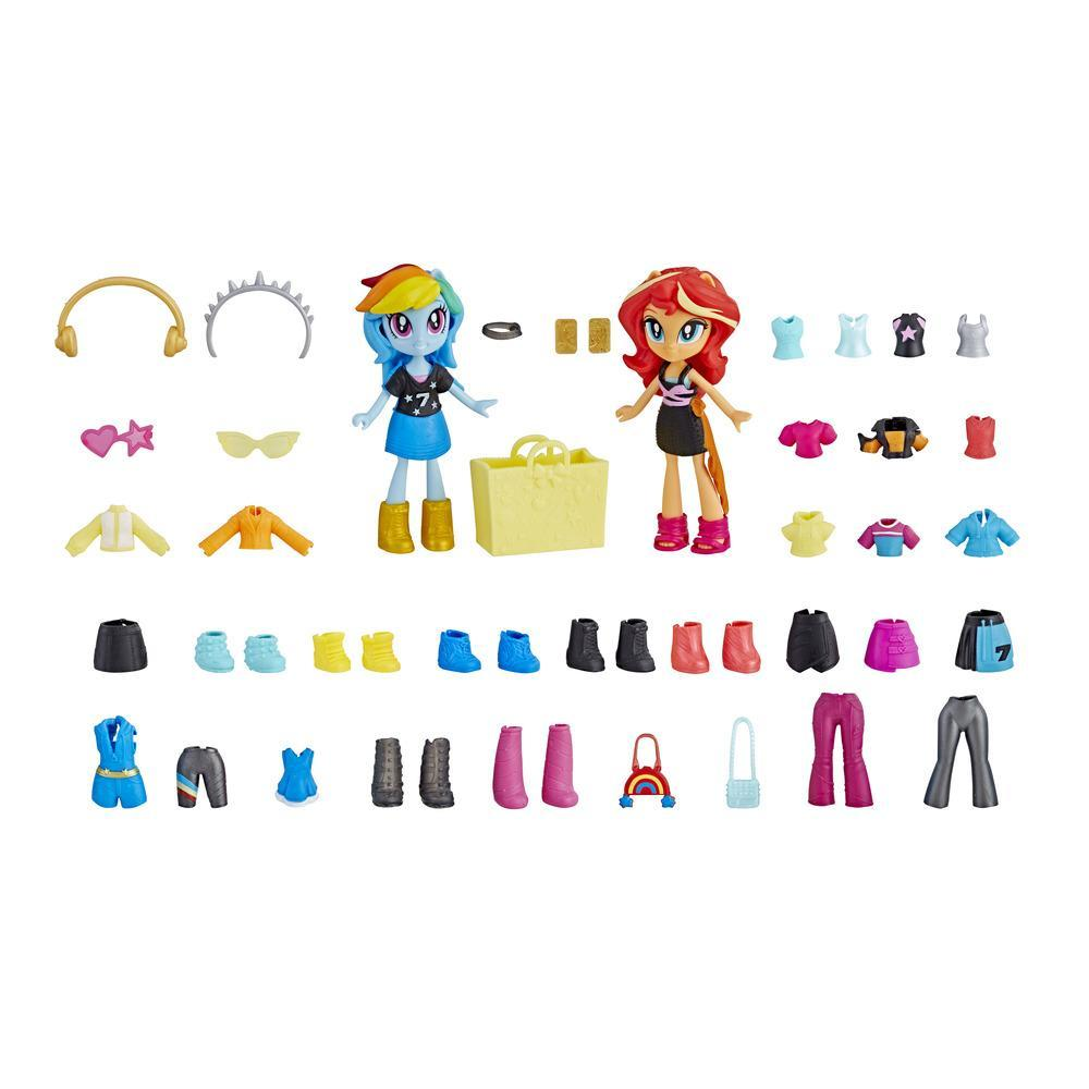 Set figurine My Little Pony Equestria Girls Fashion