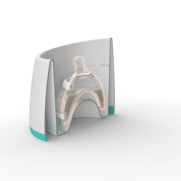 Incalzitor biberoane si pungi depozitare lapte matern nanobebe imagine