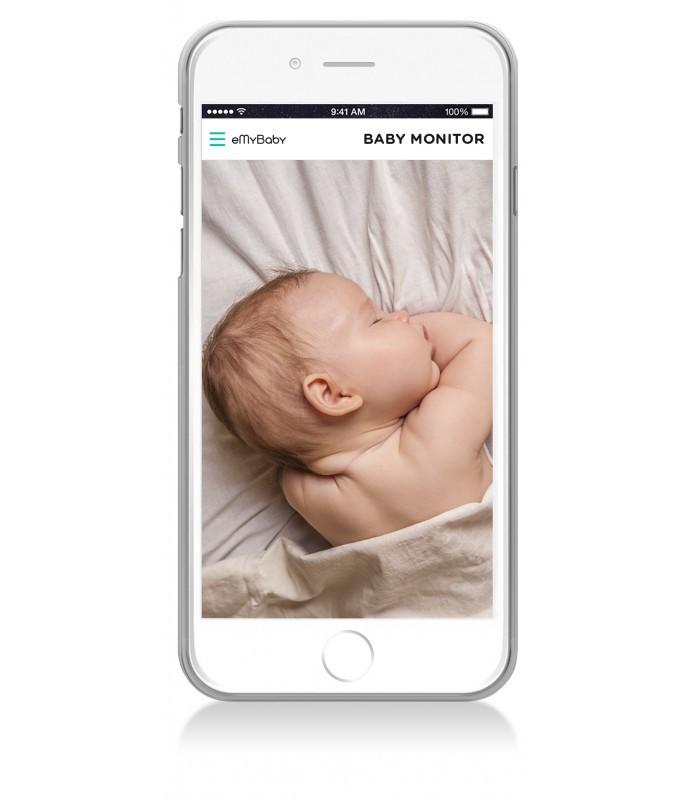 Interfon video monitorizare copii 3.5 Touch Miniland imagine