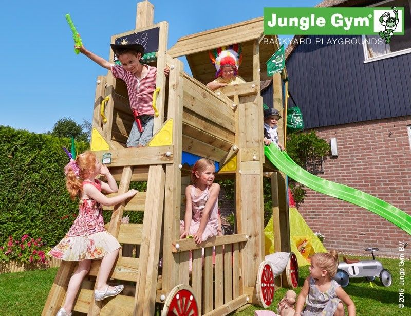 Locomotiva Jungle Gym Shelter