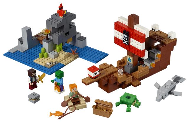 Aventura corabiei de pirati Lego