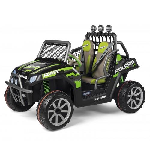 Masina Polaris Ranger RZR Green Shadow Peg Perego - 7
