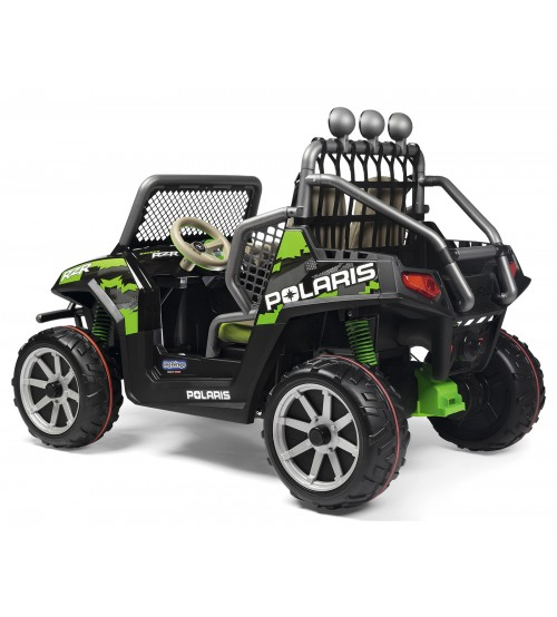 Masina Polaris Ranger RZR Green Shadow Peg Perego - 1