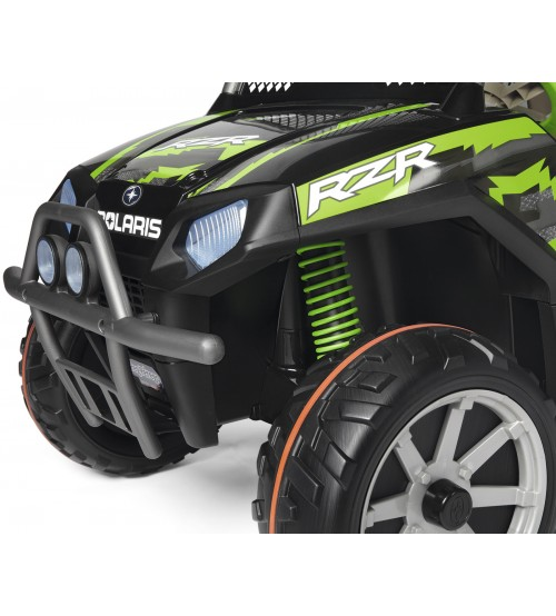 Masina Polaris Ranger RZR Green Shadow Peg Perego - 5