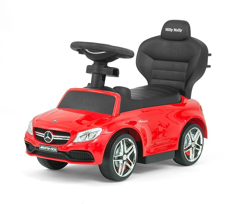 Masinuta copii 3 in 1 Mercedes Amg C63 Red imagine
