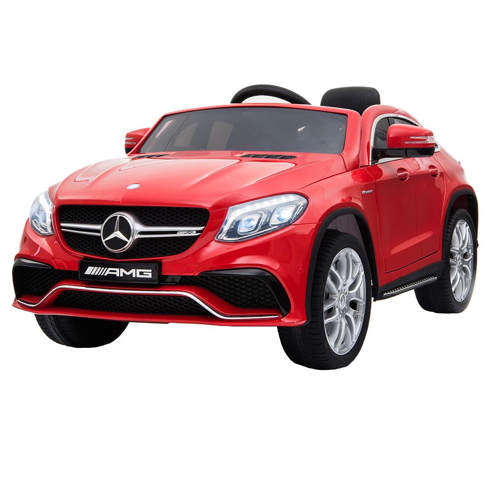 Masinuta Electrica Cu Roti Din Cauciuc Mercedes Gle63 Amg Coupe Red