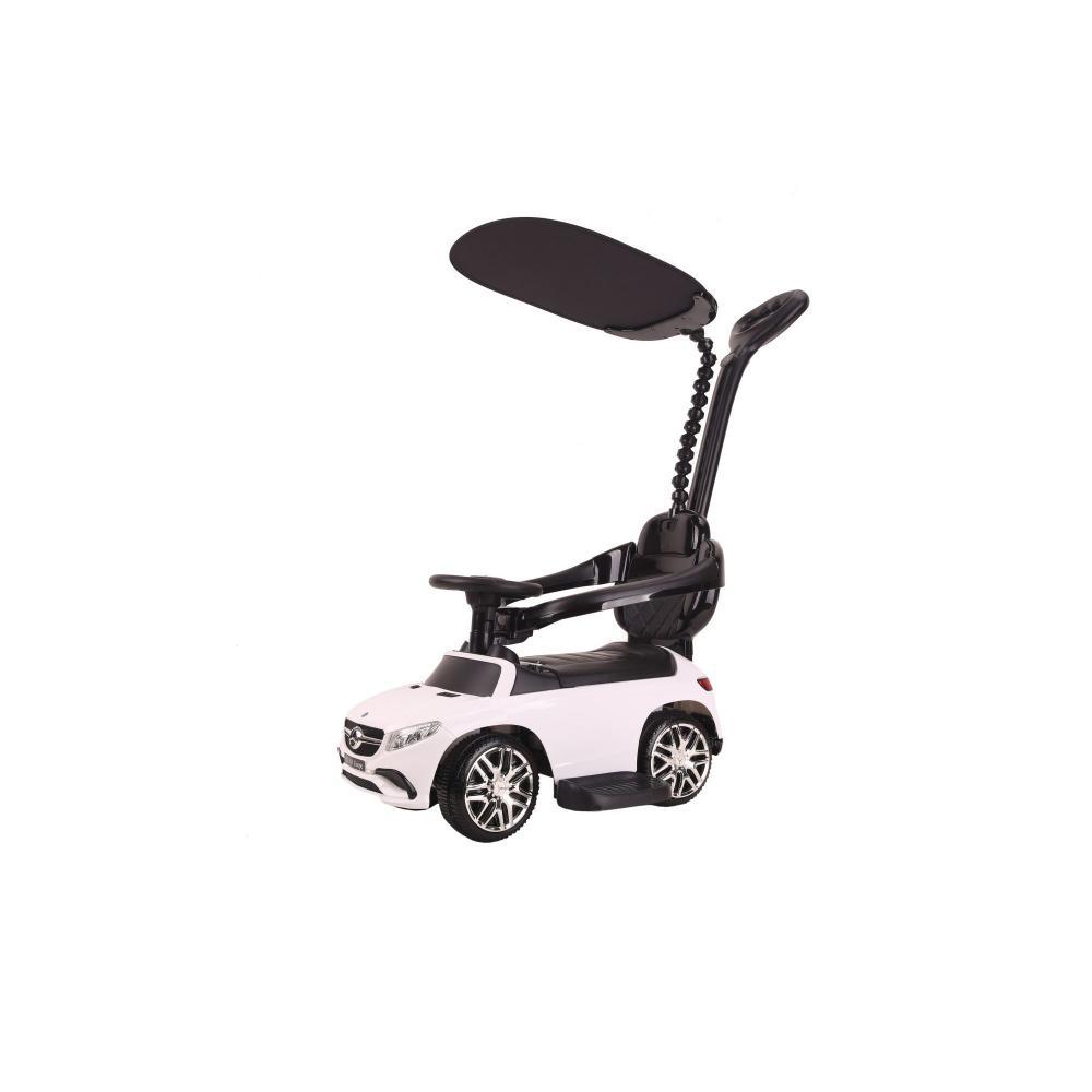 Masinuta de impins cu copertina Mercedes AMG 63GLE cu MP3 white