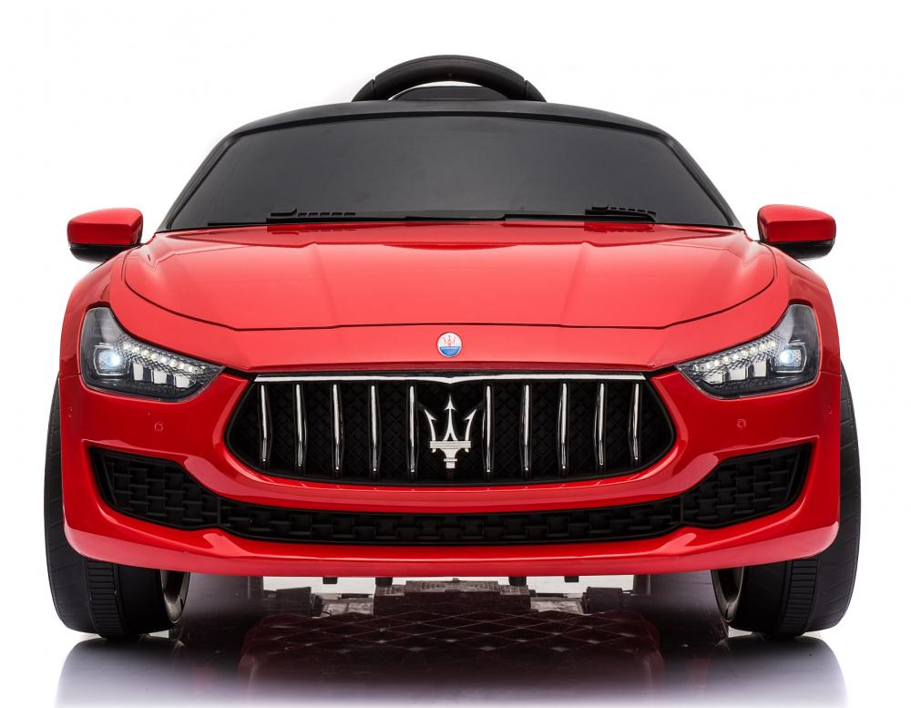 Masinuta electrica Maserati Ghibli cu roti din cauciuc Red - 4