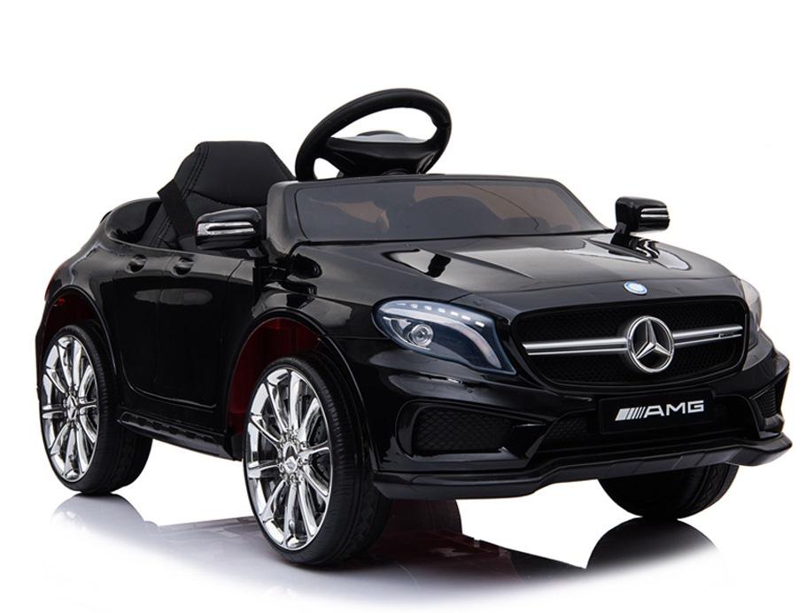 Masinuta electrica pentru copii Mercedes GLA45 AMG Black