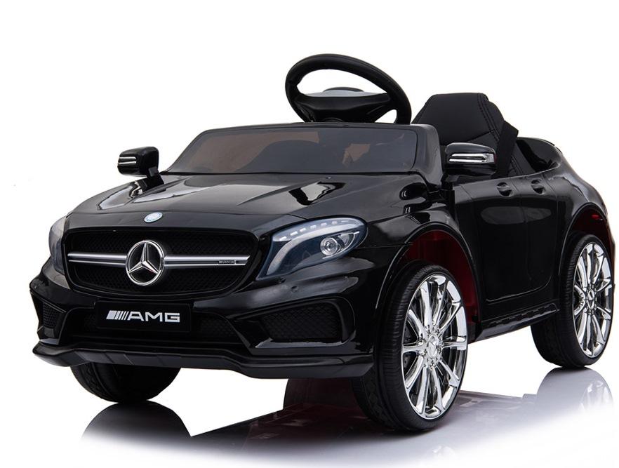 Masinuta electrica pentru copii Mercedes GLA45 AMG Black - 1