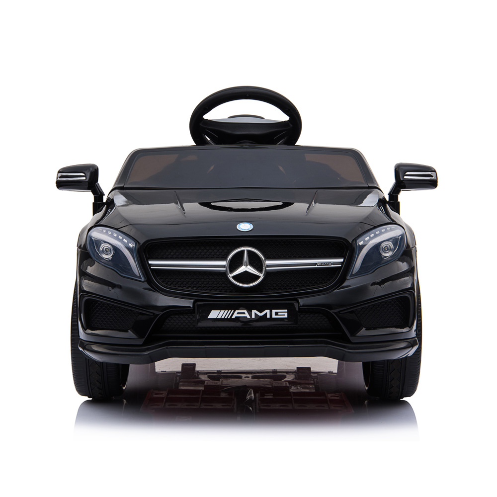 Masinuta electrica pentru copii Mercedes GLA45 AMG Black - 2