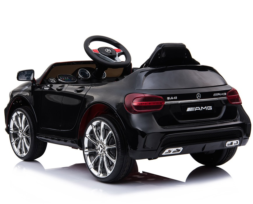 Masinuta electrica pentru copii Mercedes GLA45 AMG Black - 4
